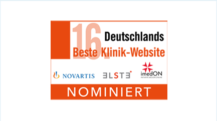 Logo Deutschlands Beste Klinik-Website